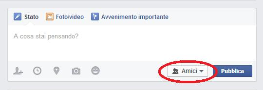 come impostare privacy post facebook 1