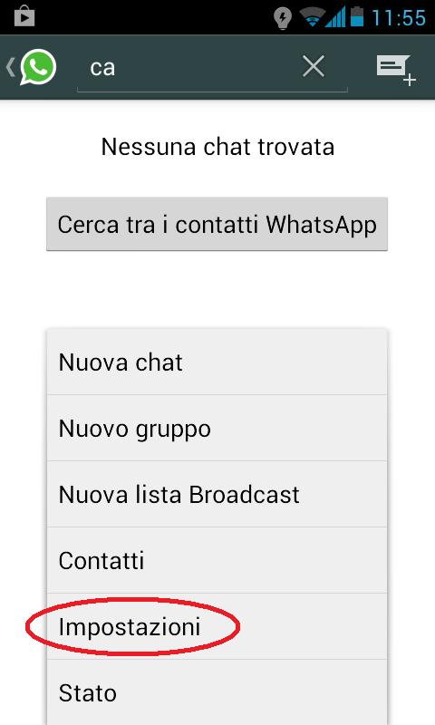 come pagare whatsapp amico 1