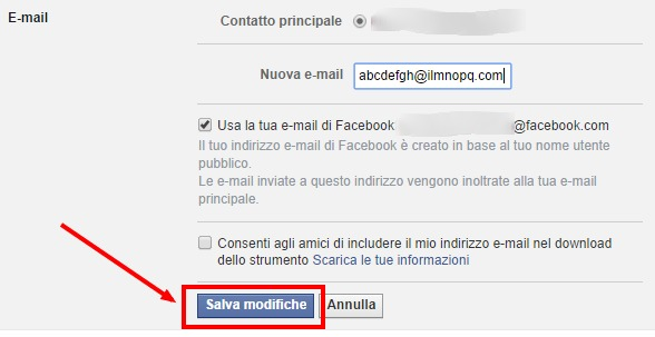 come-cambiare-email-facebook-n4